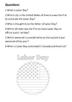 Labor Day Handout