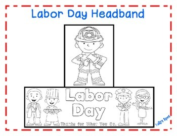 Labor Day Headband