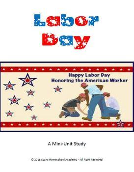 Labor Day Mini Lesson & Activity Pack