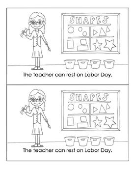 Labor Day Minibook