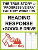 Labor Day Nonfiction Reading Response, Answer Key + Google Doc