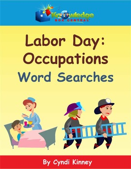 Labor Day Occupations Collage & Report