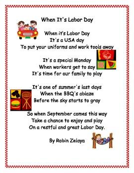 Labor Day Poem
