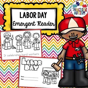 Labor Day Emergent Reader Book
