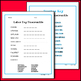 Labor Day - Readers Theater Holiday Script, Reading & Activity Packet