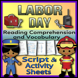 Labor Day - Readers Theater Holiday Script, Reading & Acti
