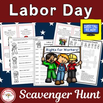 Labor Day Scavenger Hunt