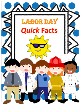 Labor Day Seat Work Bell Work Or Homework Reading Comprehension