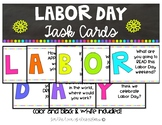 Labor Day Task Cards