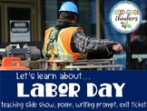 Labor Day Teaching Slide Show and Materials