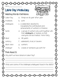 Labor Day Vocabulary
