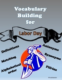 Labor Day Vocabulary Building through language skills