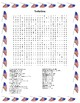 Labor Day Word Search- Harder 30 Words