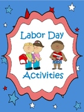 Labor Day Worksheets | Community Helpers | Puzzles/Colorin