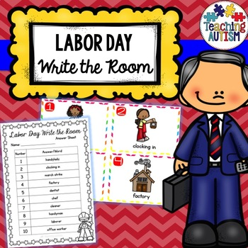 Labor Day Write the Room