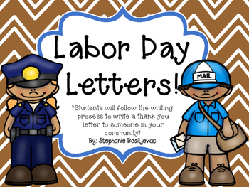 Labor Day Writing (September Writing)