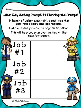 Labor Day Writing