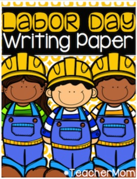 Labor Day Writing Paper Pack
