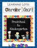 Labor Day or Career Day Games and Activities Preschool and