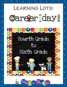 Labor Day or Career Day Games and Activities Grades 4-6