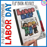 Labor Day Flip Book Activities- 2nd & 3rd grade