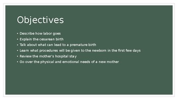 Labor, Delivery, and Neonatal Care