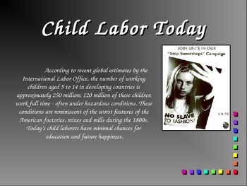 Labor In The Age of Industry