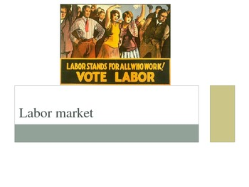 Labor Market PowerPoint