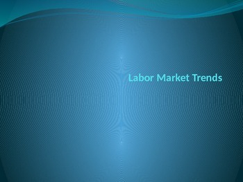 Labor Market Trends - Employment
