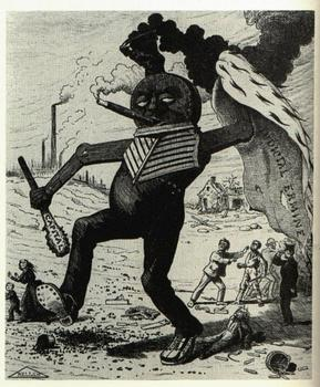 Labor Unions and Industrialization (1800's) - political cartoons