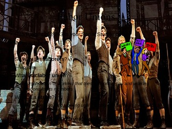Labor Unions...and The Newsies PowerPoint
