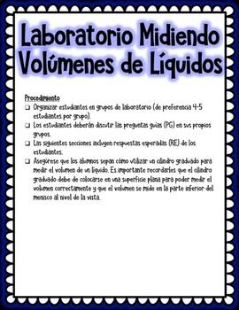 Laboratorio Interactivo: Midiendo Volúmenes (Interactive Lab: Measuring Volume)