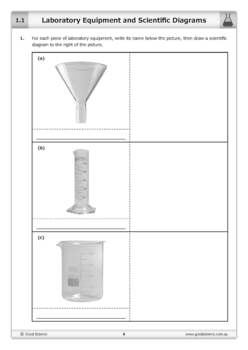 Laboratory Equipment and Scientific Diagrams [Worksheet]