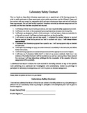 Laboratory Safety Contract