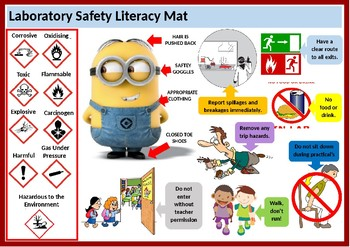 Laboratory Safety Literacy Mat