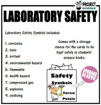 Laboratory Safety Tarsia Puzzle
