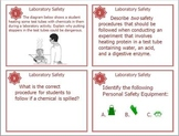 Laboratory Safety Task Cards for Middle and High School