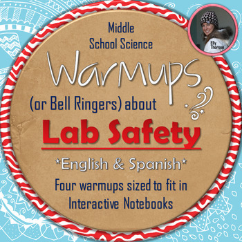 Laboratory Safety Warmups Or Bell Ringers For Middle School Science