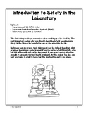 Laboratory Safety Workbook - Grade 8