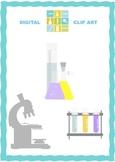Laboratory equipment clip art