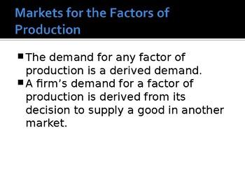 Labour Markets - Economics A Level (CIE compatible), AP High quality PPTs