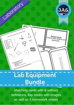 Lab equipment activity bundle