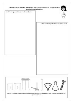 Laboratory Equipment worksheets