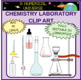 Laboratory Glassware Clip Art Realistic