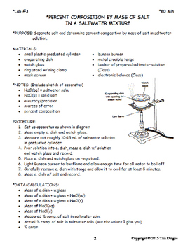 Labs - Regents Chemistry