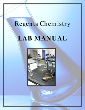 NGSS Regents Chemistry - Laboratory Manual