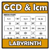 Labyrinth - Laberinto - GCD & lcm - MCD & mcm