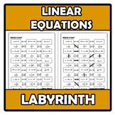 Labyrinth - Laberinto - Linear equations - Ecuaciones lineales