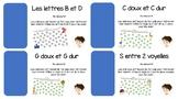 Labyrinthes BUNDLE: Sons c, g, b/d et s entre deux voyelles