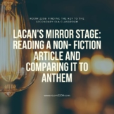 Lacan's Mirror Stage: Reading a Non- Fiction Article and C